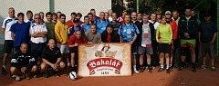 Účastníci nohejbalového turnaje Zukal Cup 2013