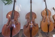 Součástí sbírky strunných nástrojů z 19. a 20. století jsou i díla dnes již nežijících mistrů z celé Evropy.
