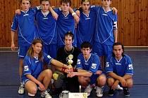Florbalový tým Vulcane – nejlepší zástupce chebského regionu na Vánočním turnaji ve Skalné.