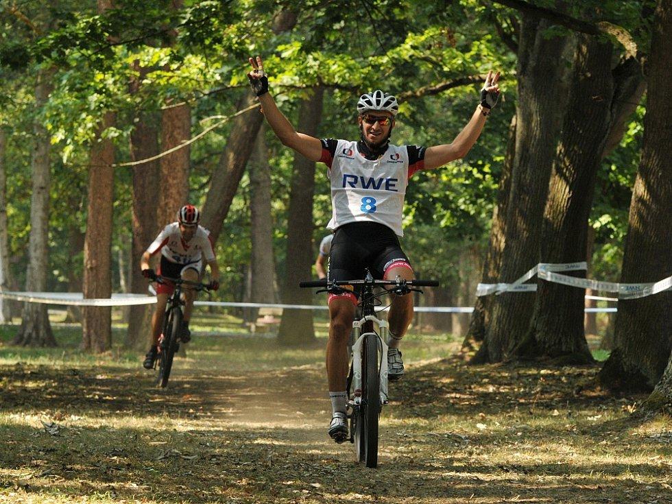 Františkovy Lázně se na chvíli proměnily v ráj všech cyklistů.