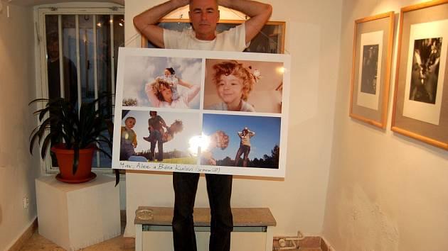 POCHLUBIL SE! Vlastimil Kula se pochlubil také fotografiemi své milované rodiny.