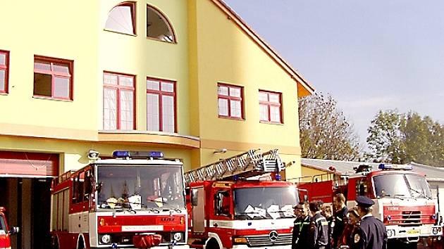 Nová hasičská stanice v Mariánských Lázních