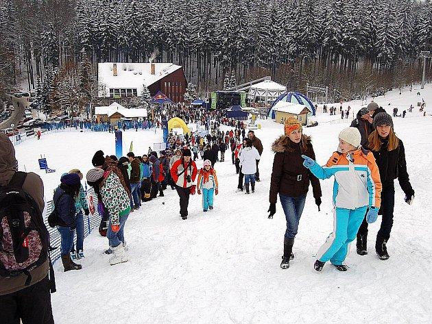 Skiarea Mariánské Lázně.