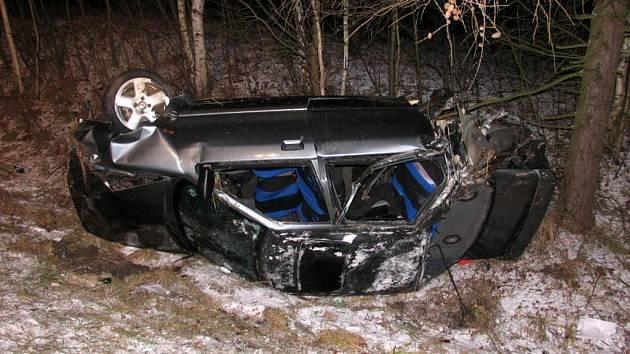 Tragická dopravní nehoda u Velké Hleďsebe