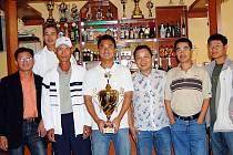 Vítězní chebští tenisté vietnamské národnosti