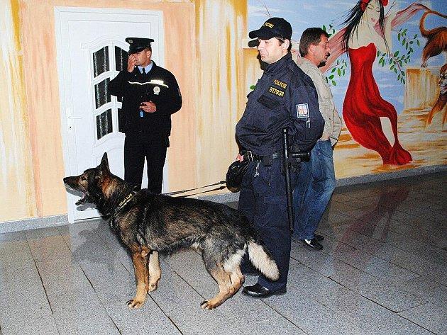 Všechny složky policie se vydaly na kontrolu nočních podniků v Aši, v jejich sítích uvízli také řidiči.