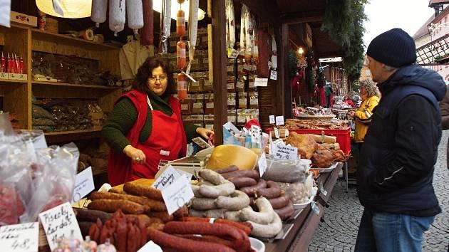 Vánoční trhy začaly poslední listopadovou sobotu.