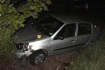 Dopravní nehoda u Vojtanova.