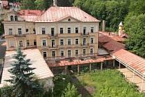 LESNÍ MLÝN v Mariánských Lázních patří mezi chátrající objekty, kterých je ve městě víc než dost.