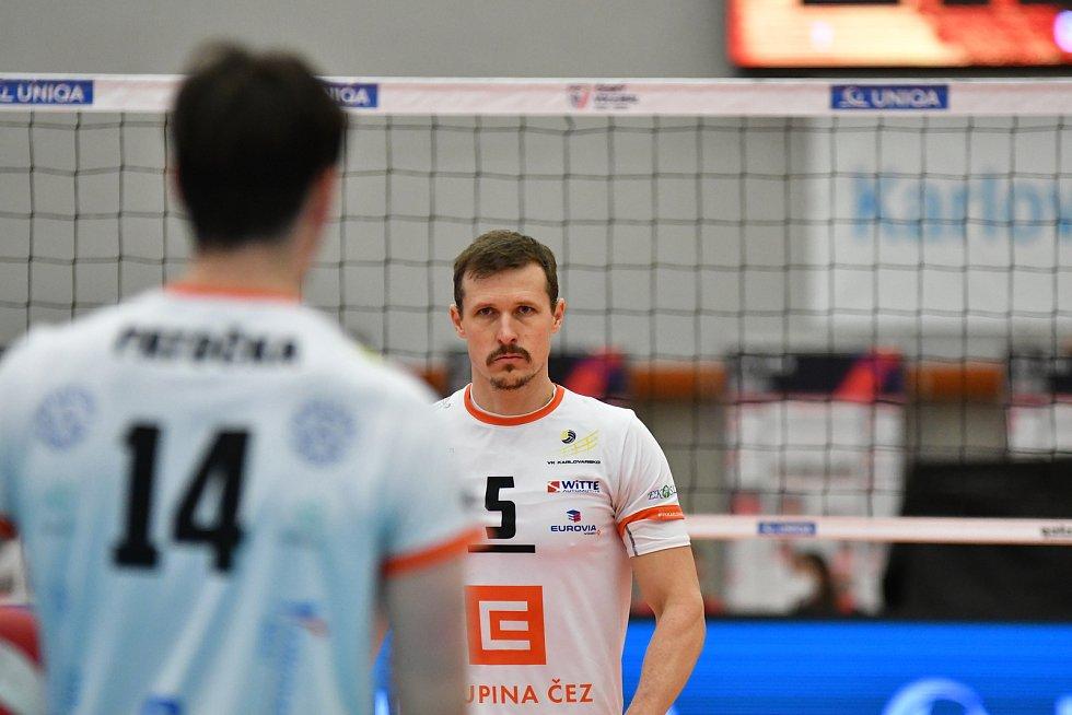 Páté finále UNIQA extraligy VK ČEZ Karlovarsko - VK Jihostroj České Budějovice