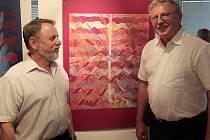 ANTONÍN KANTA A ZDENĚK ŠPLÍCHAL vystavují svá díla v chodovské Galerii u Vavřince.