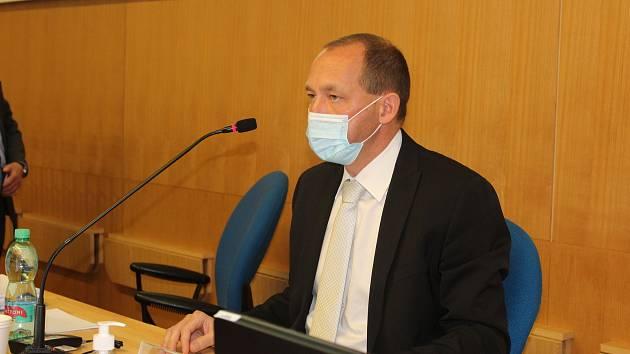 Petr Kulhánek krátce po svém jmenování novým hejtmanem.