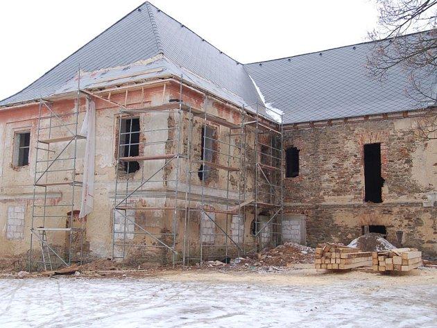 Budoucí kulturní zóna. Pivovar by měl po rekonstrukci sloužit jako obřadní síň, kino a kulturní centrum pro lidi.