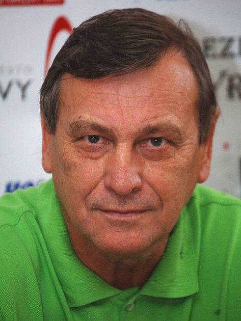 Josef Paleček, trenér HC Energie.