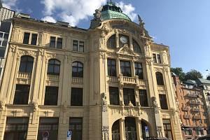 Budova bývalé spořitelny.