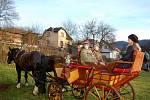 Vánoční jarmark v Jakubově na Karlovarsku