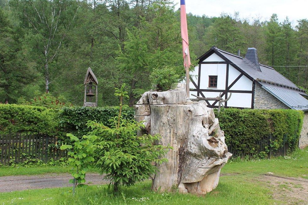 Dolní Dražov je malebný.