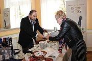 Z oslav 90. výročí založení Hotelové školy Mariánské Lázně.