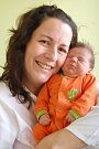 Eliška Kylišová z Ostrova se narodila 11. 12. 2012