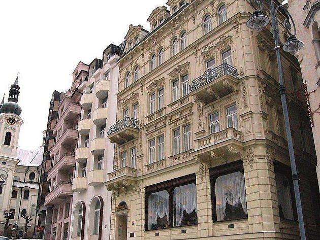 Karlovarské lázeňské sanatorium Tosca.