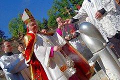 Karlovy Vary v den slavnostního zahájení lázeňské sezony