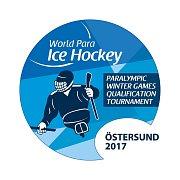 Logo sledge hokej Švédsko.