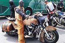 Fichtelberg, vrchol motorkářům zaslíbený.