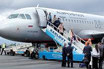Mezinárodní letiště v Karlových Varech.