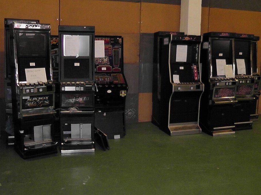 Zabavené výherní automaty