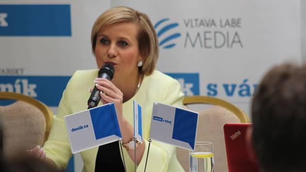Hejtmanka Jana Vildumetzová