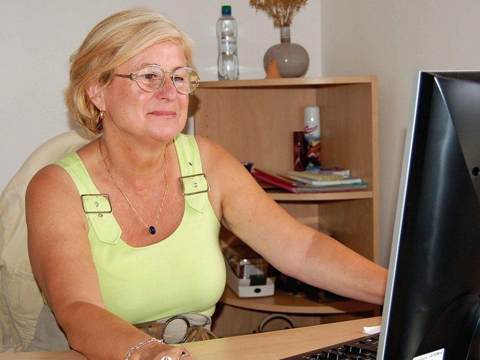 Ředitelka SOS vesničky Sylva Cenefelsová.