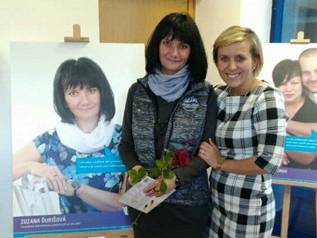 Zuzana Durišová je jednou ztváří propagace pěstounů vKarlovarském kraji.
