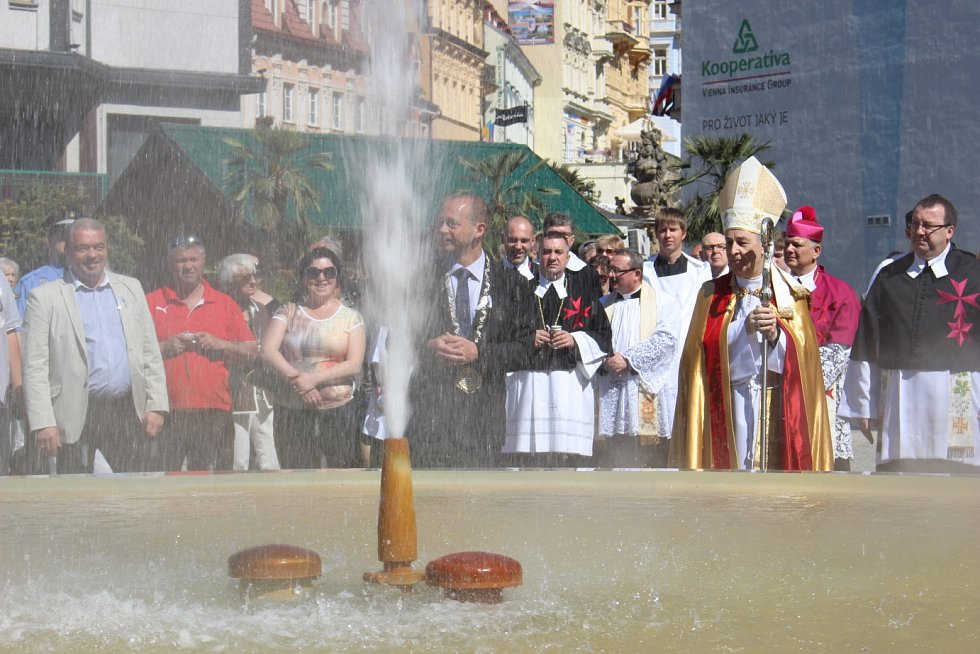 Zahájení lázeňské sezony v Karlových Varech