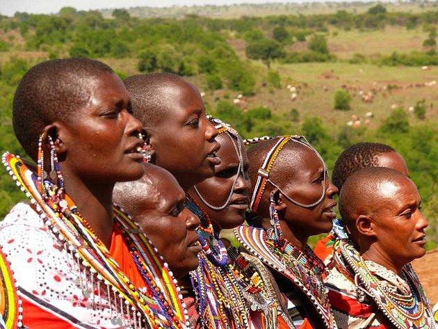 Keňa. Země originální masajské kultury