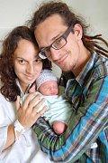 Sebastianek Lerch z Karlových Varů se narodil 21. 9. 2011