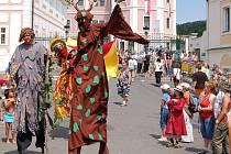 Velkolepé oslavy. Bečovské slavnosti bývají opravdu velkolepé. Organizátoři vždy vymyslí originální program.