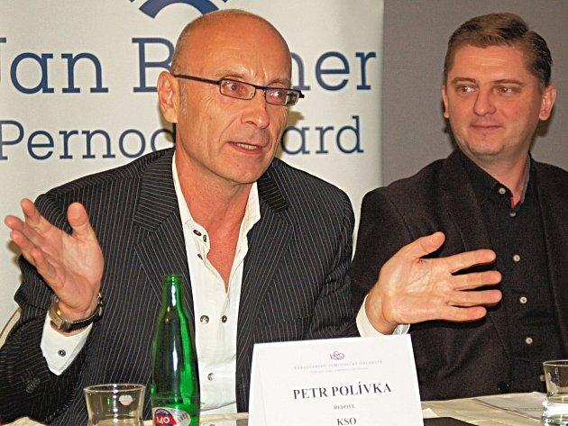 NEJBLIŽŠÍM spolupracovníkem Petra Polívky při vedení KSO bude šéfdirigent symfoniků Jan Kučera (vlevo).