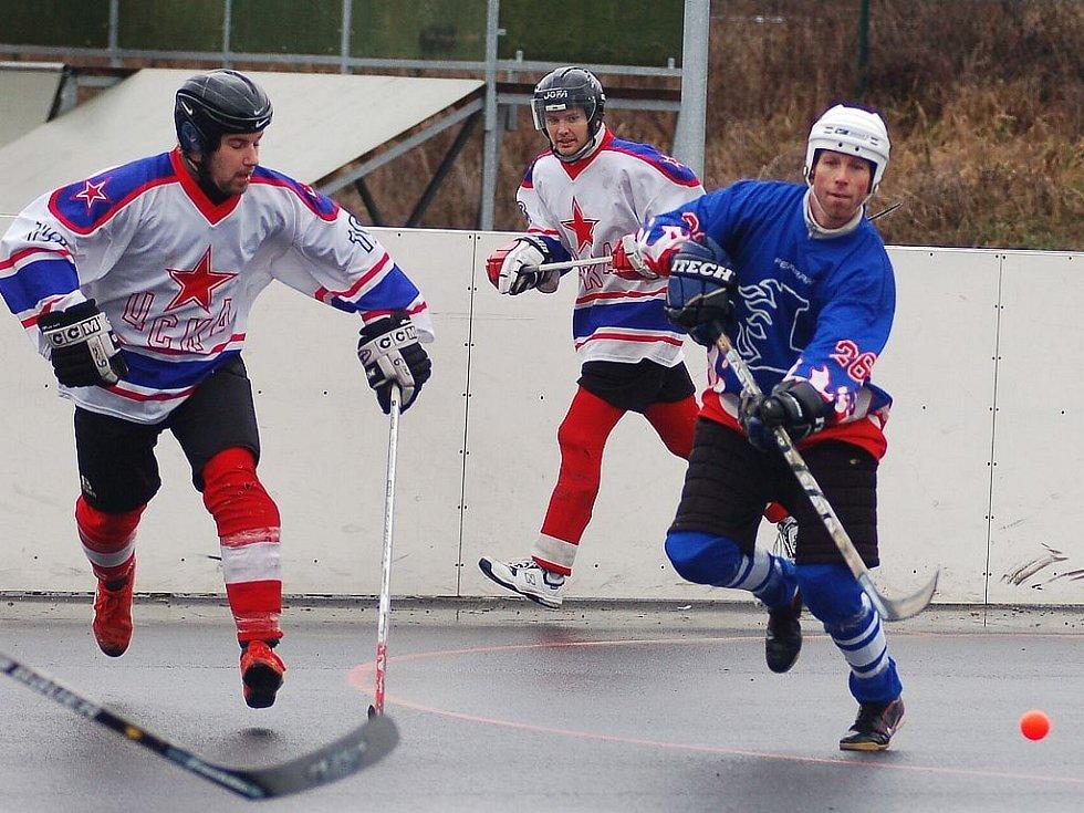Zápas CSKA vs Litice.