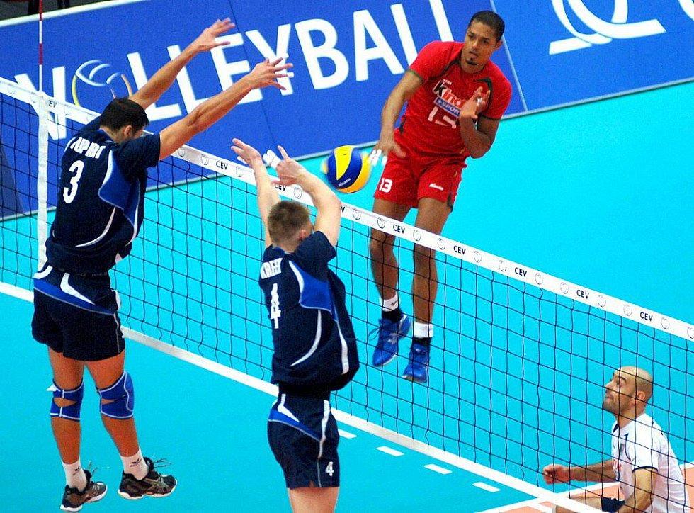 ME volejbal muži: Portugalsko - Estonsko