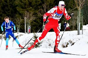 Do české reprezentace juniorů  byl nominován nadějný běžec na lyžích z LK Slovan Karlovy Vary Kryštof Zatloukal (na snímku), kterého ještě doplnili kluboví parťáci Daniel Hozák a Filip Štecher.