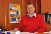 Žlutický starosta Václav Slavík.
