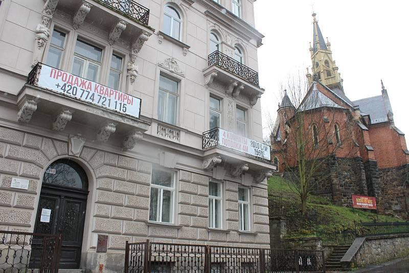 K prodeji je i tento dům na Zámeckém vrchu.