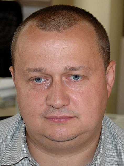 Josef Šrámek, trenér fotbalového týmu Chyše.