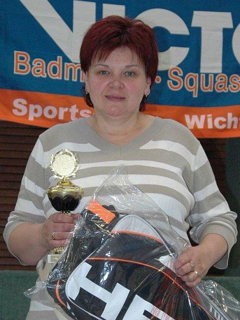 Úspěch pro nejdecký badminton o víkendu vybojovala Marie Nováková, vítězka turnaje ve Zwickau.