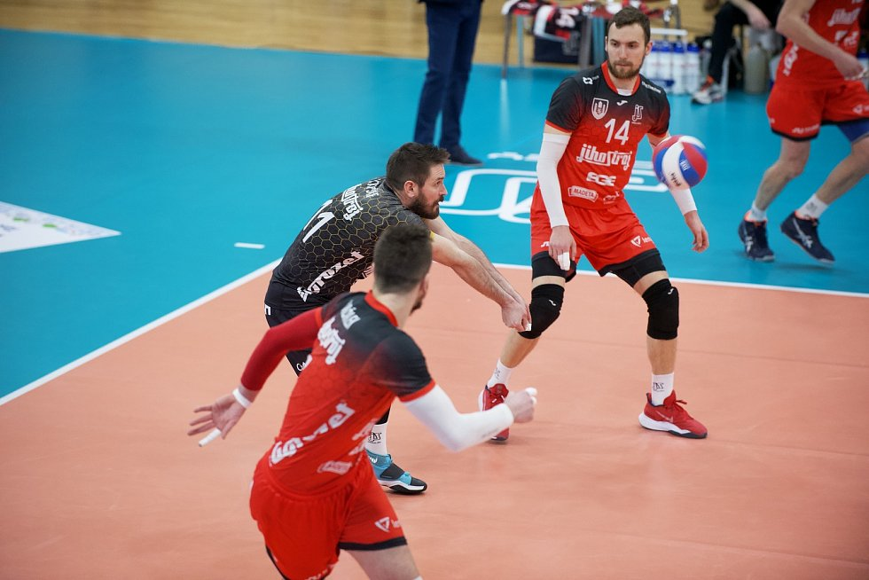 Finále: VK Jihostroj České Budějovice - VK ČEZ Karlovarsko