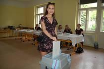 Studentka Nicole Kubartová šla volit podruhé, považuje to za svou občanskou povinnost.