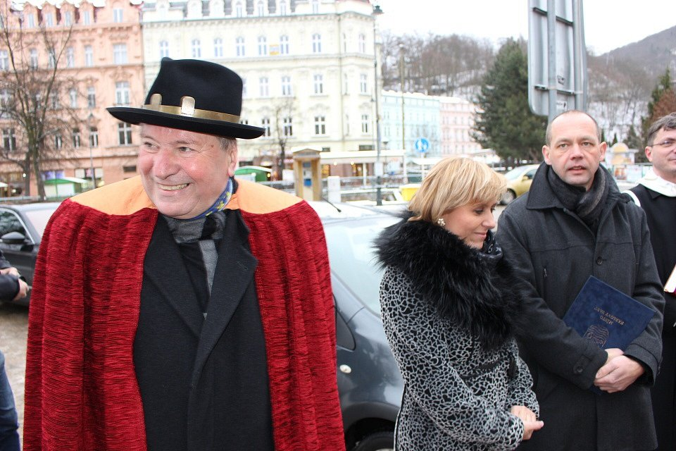 Slavnostní zahájení Tříkrálové sbírky v kraji se konalo v Karlových Varech.