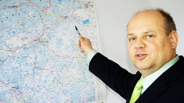 Výkonný ředitel společnosti Autobusy Karlovy Vary Zdeněk Suchan.