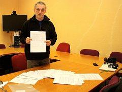 Autor petice Karel Bíma