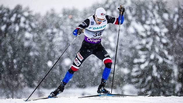 Sourozence Michala (na snímku) a Petru Novákovy mohou amatérští sportovci potkat nejen v bílé stopě, ale také v lázeňských lesích.